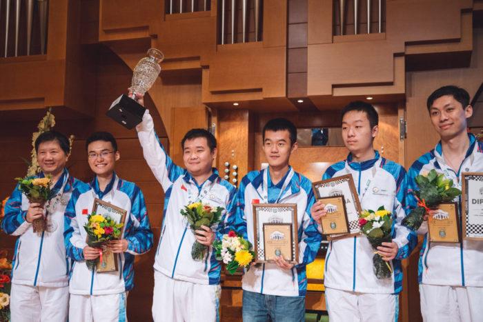 Китайцы победили на командном чемпионате мира по шахматам в Ханты-Мансийске 2017