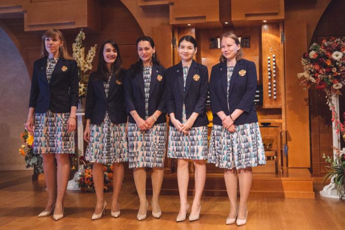 Женская сборная России по шахматам - чемпионки мира (Ханты-Мансийск, 2017)