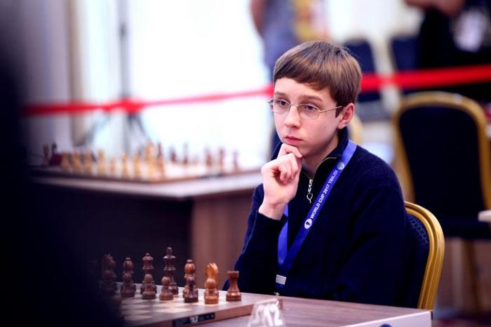 Шахматист Антон Смирнов (Астралия)