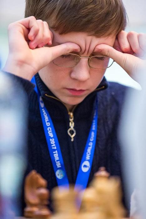 Шахматист Антон Смирнов из Австралия