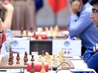 Антон Ковалев (Канада) и Вишванатан Ананд (Индия)