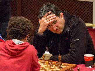 Владимир Крамник - шахматный турнир на острове Мэн 2017