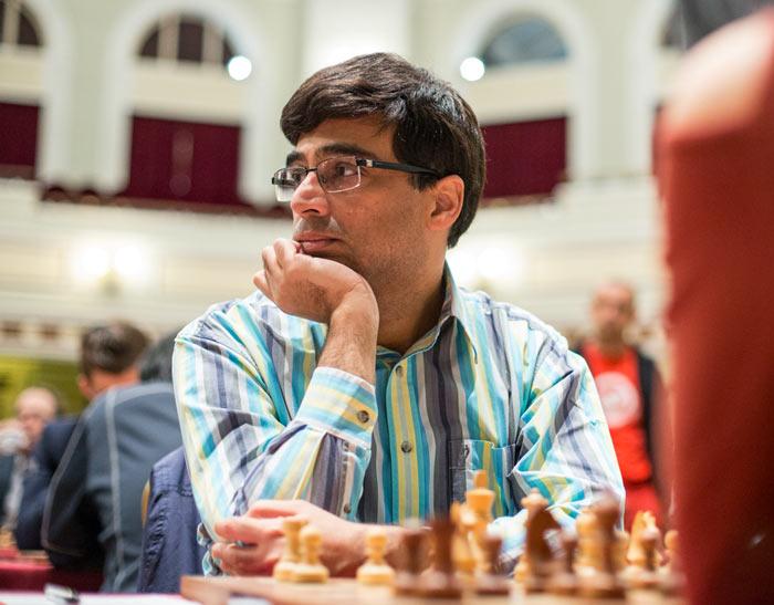 Вишванатан Ананд - шахматный турнир на острове Мэн 2017