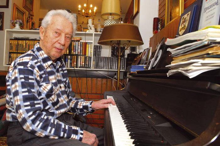 Глигорич начал заниматься музыкой в 81 год!