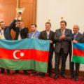 Сборная Азербайджана - победитель командного чемпионата Европы по шахматам (Греция, 2017)