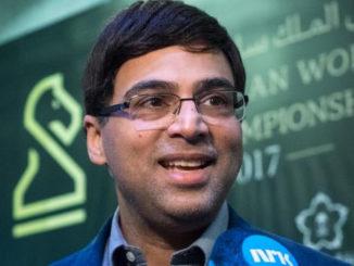 Чемпион мира по быстрым шахматам 2017 Виши Ананд (Индия)