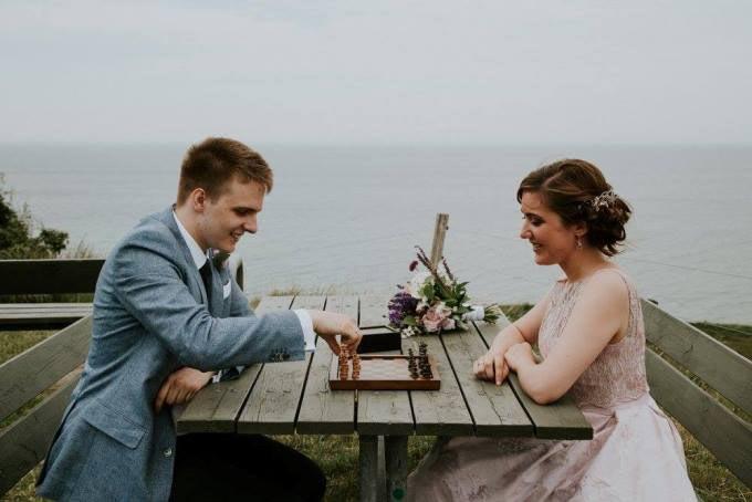 Свадебная фотография Рихарда и Йованы