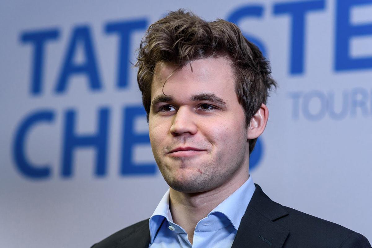 Магнус Карлсен (Норвегия) - победитель турнира Tata Steel Chess 2018 (Вейк-ан-Зее)