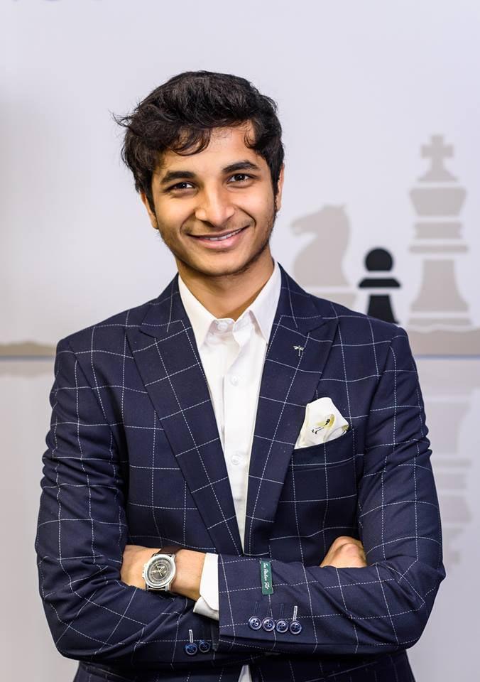 Видит Сантош Гуджрати (Индия) - победитель Tata Steel Challengers