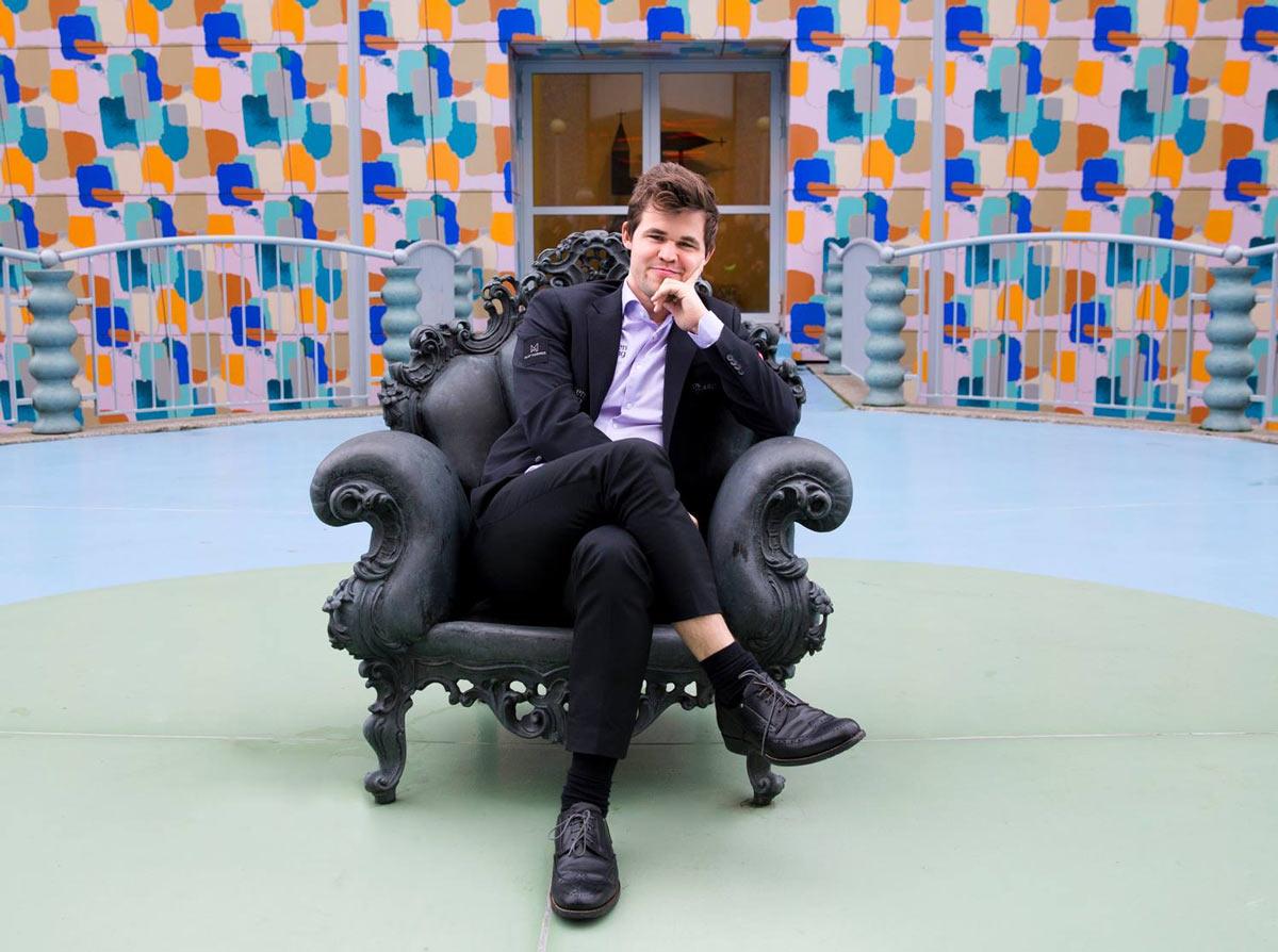 Действующий чемпиона мира по шахматам Магнус Карлсен (Норвегия)