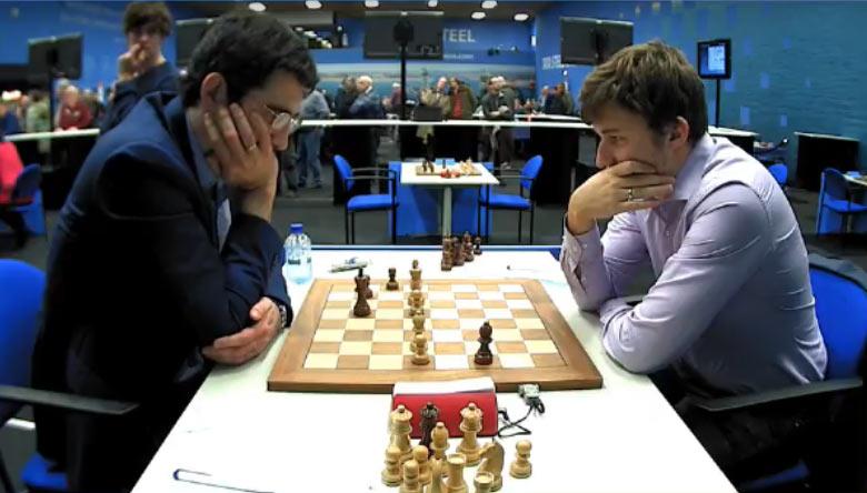 Tata-Steel-Masters-2018-raund-11-Kramnik-Kariakin