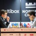 Ставангер 2018 шахматы: Магнус Карлсен и Фибиано Каруана