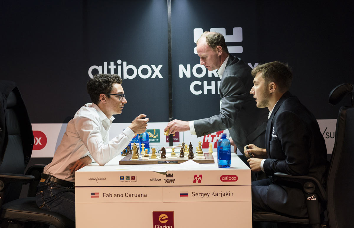 Шахматный турнир Ставангер 2018. Каруана и Карякин