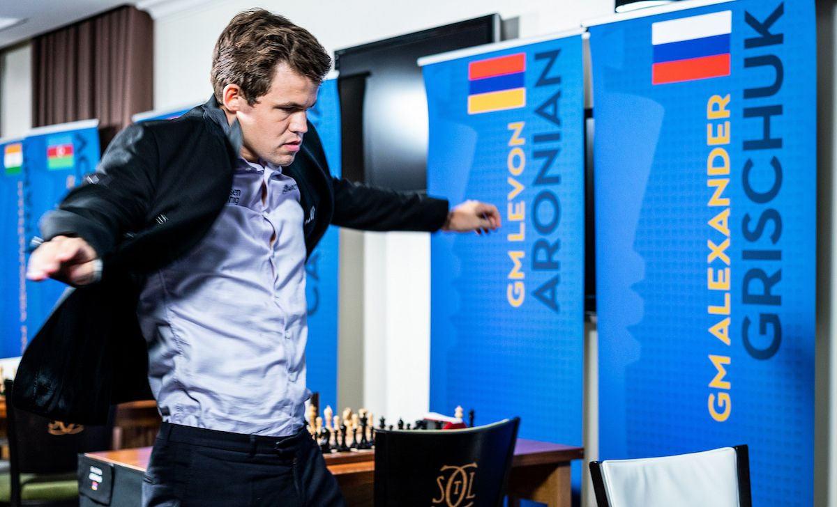 Карлсен улетает, но он обязательно вернется... С нетерпением ждем матча за звание чемпиона мира Карлсен - Каруана, который состоится в ноябре 2018 года