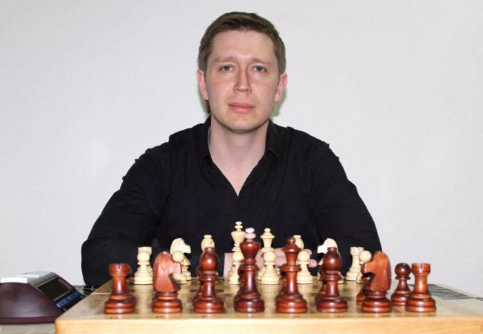 Гроссмейстер Артём Ильин
