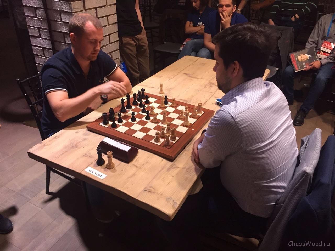"Ловков - Непомнящий. Grand Chess Fest ""Финал Звезд"". Санкт-Петербург, 2018"