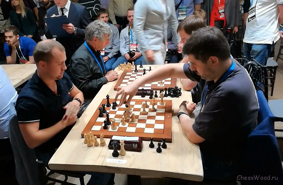 "Ловков - Свидлер. Grand Chess Fest ""Финал Звезд"". Санкт-Петербург, 2018"