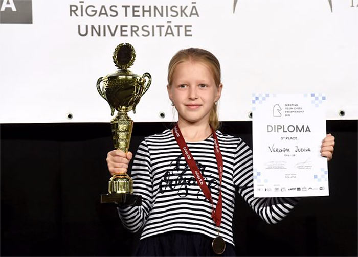 Вероника Юдина шахматы