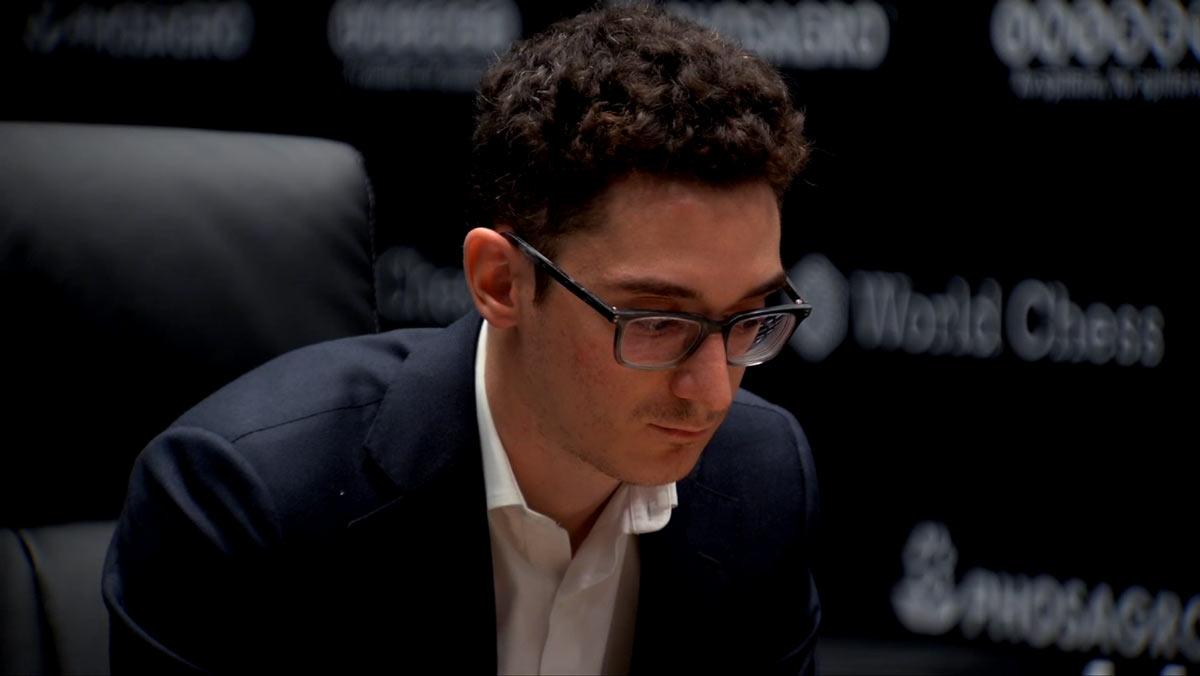 Матч Карлсен - Каруана 2018, партия 3