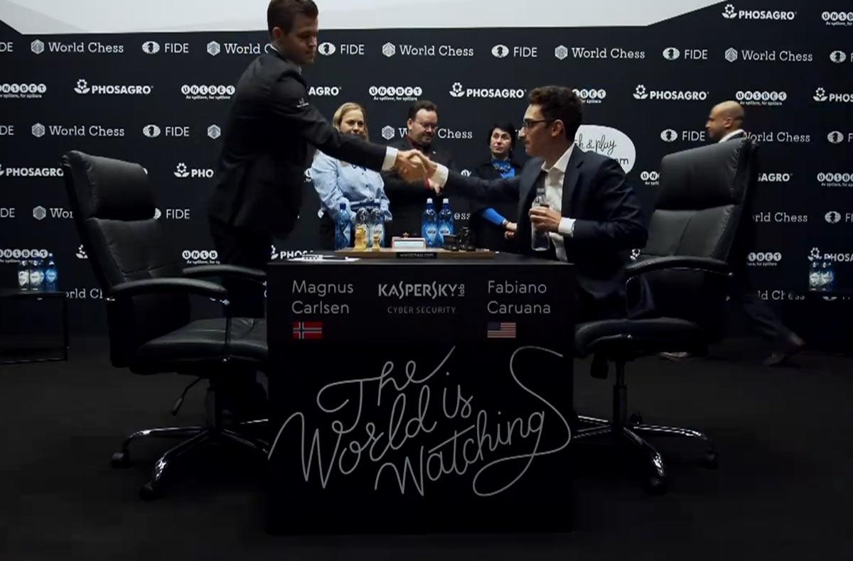 Матч Карлсен - Каруана 2018 за звание чемпиона мира, партия 4
