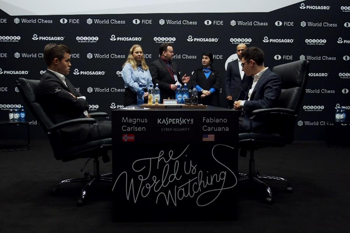 Матч Карлсен - Каруана 2018 за звание чемпиона мира