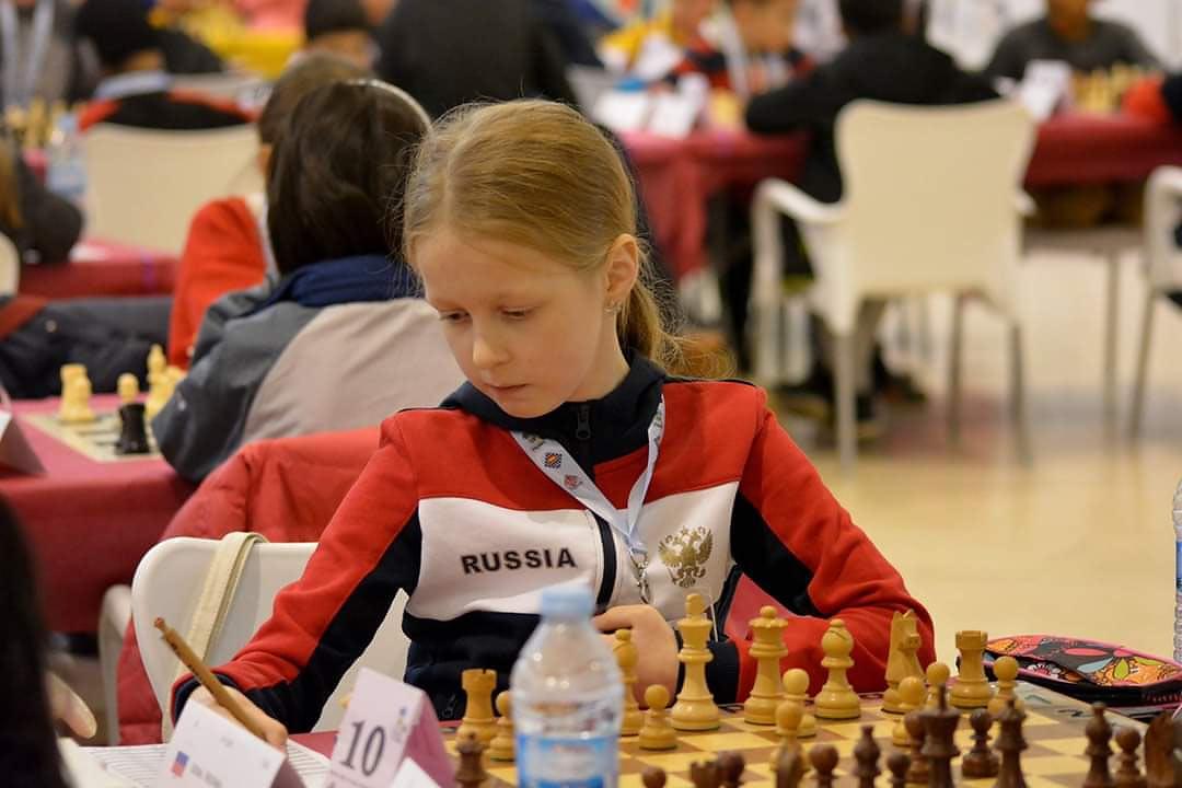 Вероника Юдина на чемпионате мира среди кадетов 2018
