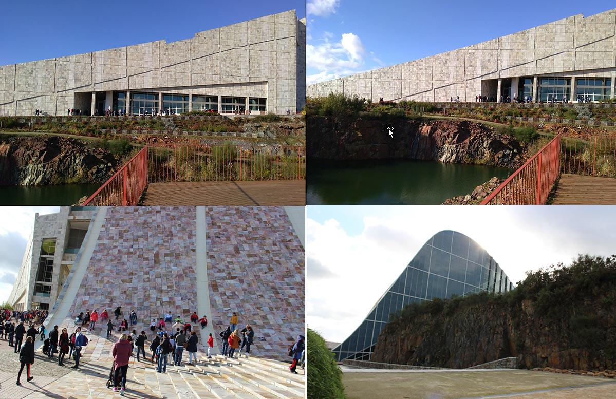 CIDADE DE CULTURA. Здание, в котором проходил турнир