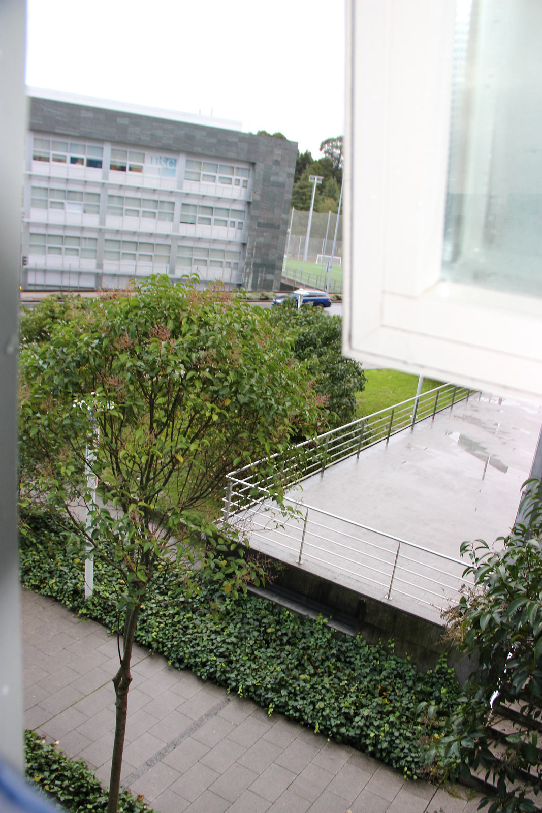 Вид из окна отеля. Сантьяго-де-Компостела (Испания)