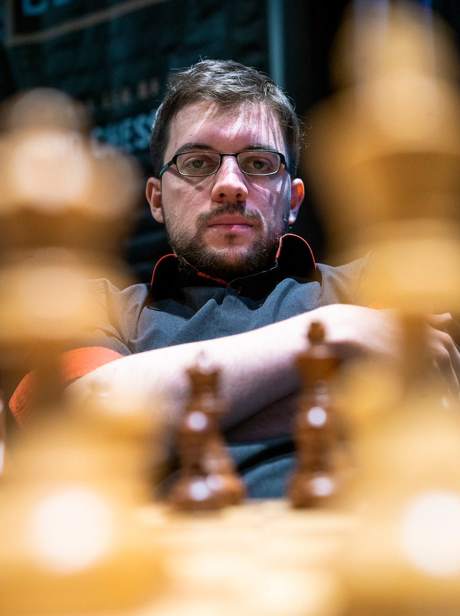 Максим Вашье-Лаграв (Франция) London Chess Classic 2018