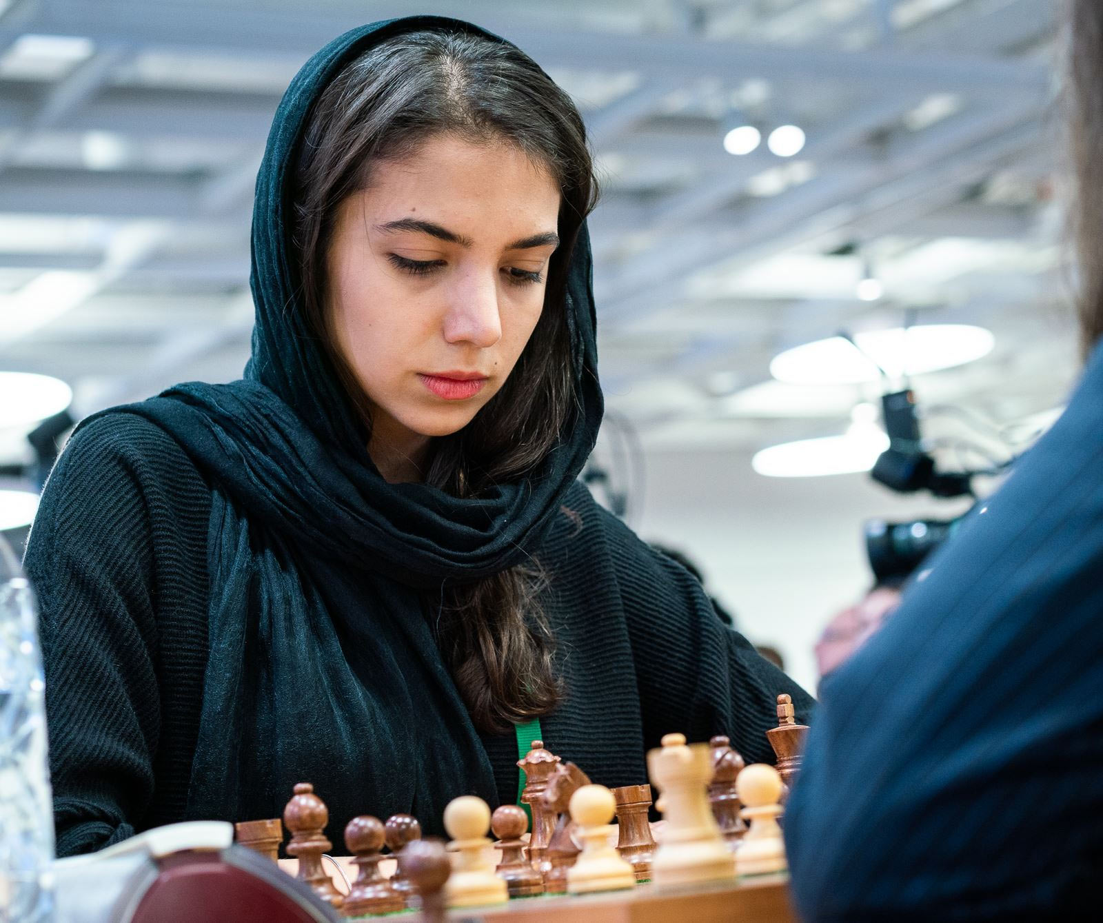 Сарасадат Хадемальшарьех (Иран) - серебряный призер чемпионата мира по блицу 2018 среди женщин