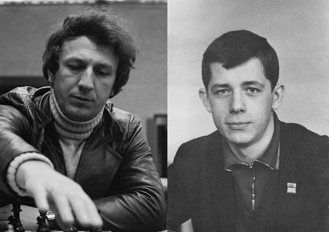 Евгений Свешников и Геннадий Тимощенко в молодые годы