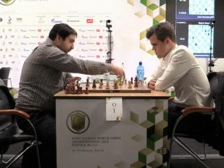Александр Зубов и Магнус Карлсен