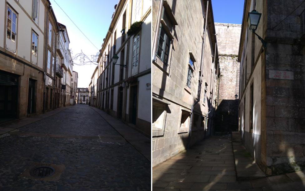 Город Сантьяго-де-Компостела (Испания)