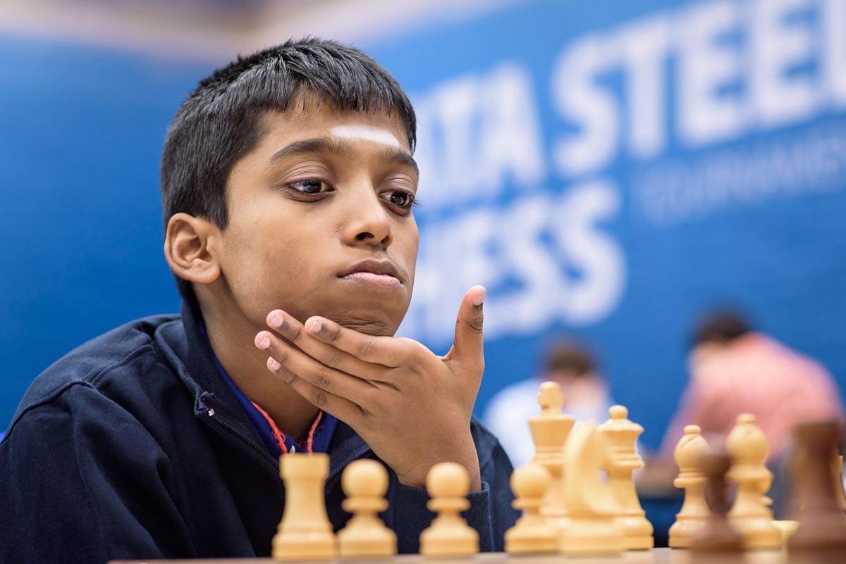 Рамешбабу Праггнанандха - индийский шахматист