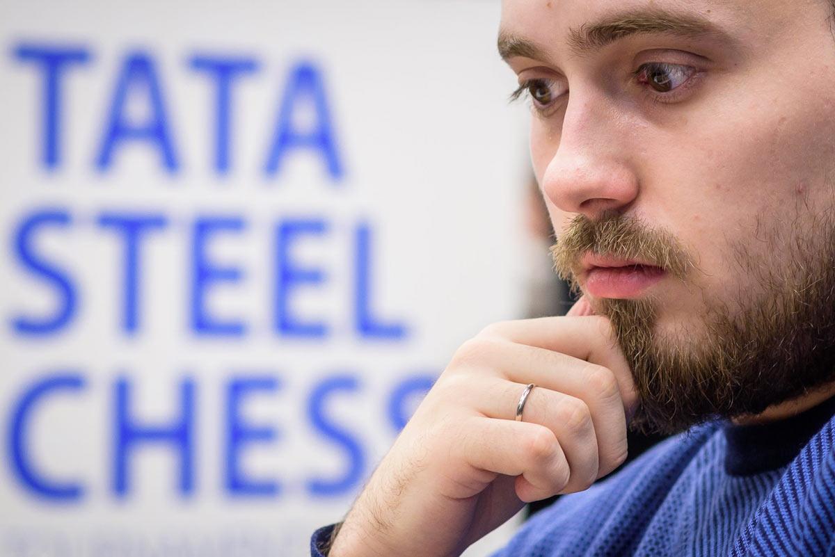 Шахматист Максим Чигаев. Tata Steel Challengers 2019, Вейк-ан-Зее