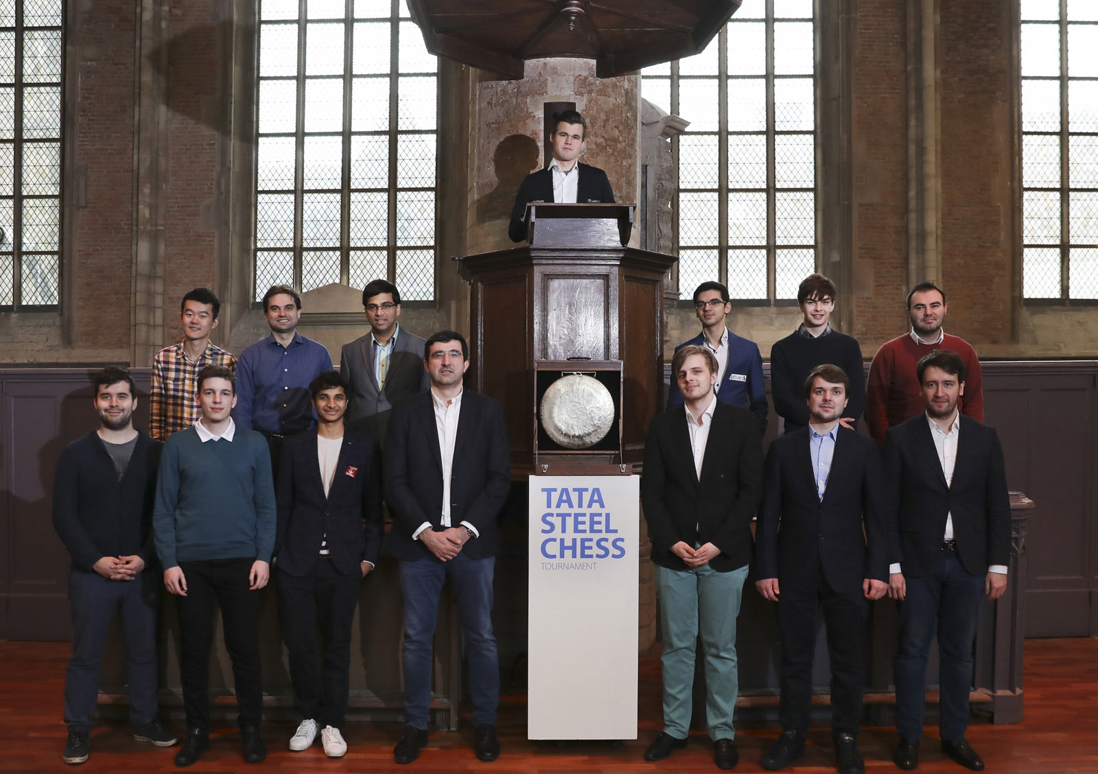Десятый тур Tata Steel Chess 2019 прошел в Лейдене