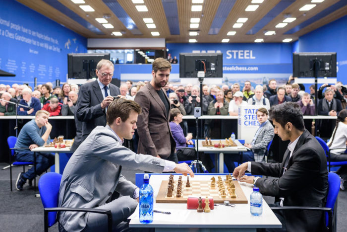 Magnus Carlsen Tata Steel Chess 2019