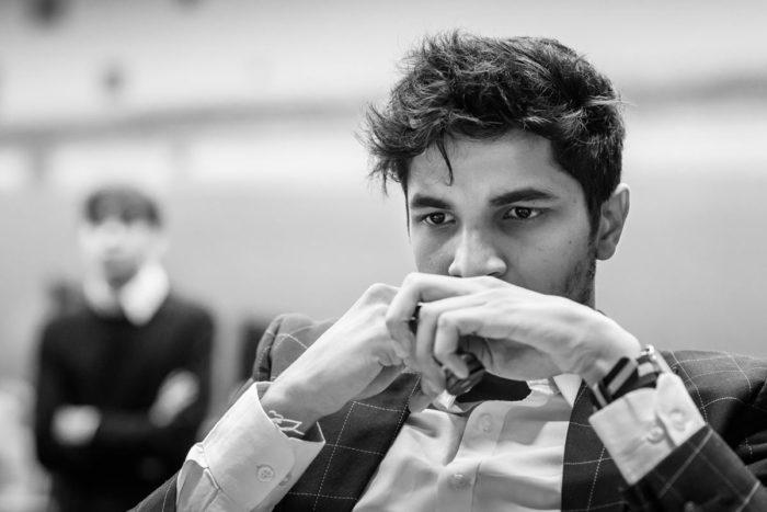 Видит Сантош Гуджрати (Индия). Шахматный турнир Tata Steel Chess 2019