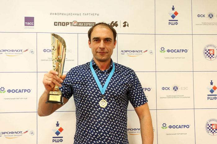 Кайдо Кюлаотс - победитель Aeroflot Open 2019