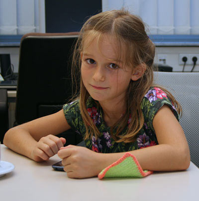 Младшая сестра Винсента Кеймера Сесилия | Фото: Фредерик Фридель/chessbase.com