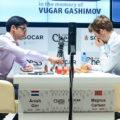 Аниш Гири и Магнус Карлсен | Фото: Shamkir Chess 2019