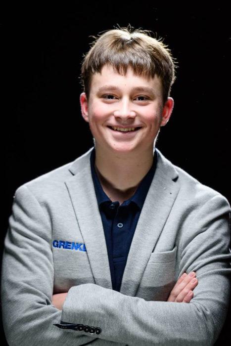Немецкий шахматист Винсент Кеймер (Vincent Keymer)
