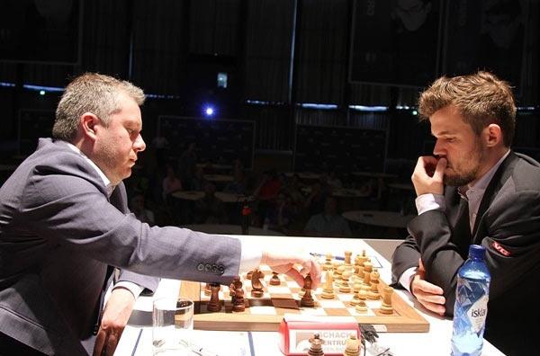 GRENKE Chess Classic 2019. Naiditsch Arkadij - Carlsen Magnus