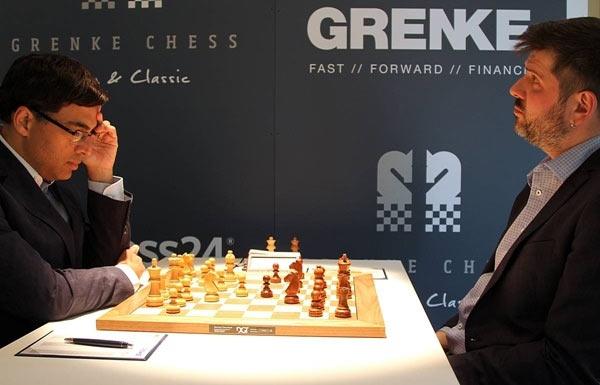 Grenke Chess Classic 2019. Вишванатан Ананд и Пётр Свидлер