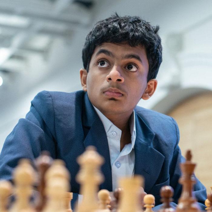Шахматист Нихал Сарин