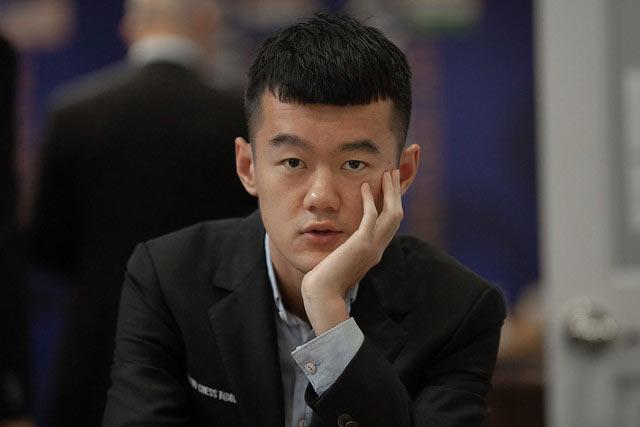 Китайский шахматист Дин Лижэнь (丁立人, Ding Liren)