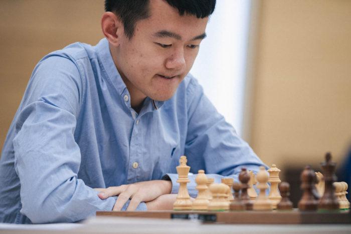 Китайский шахматист Дин Лижэнь. Кубок мира 2019, Ханты-Мансийск
