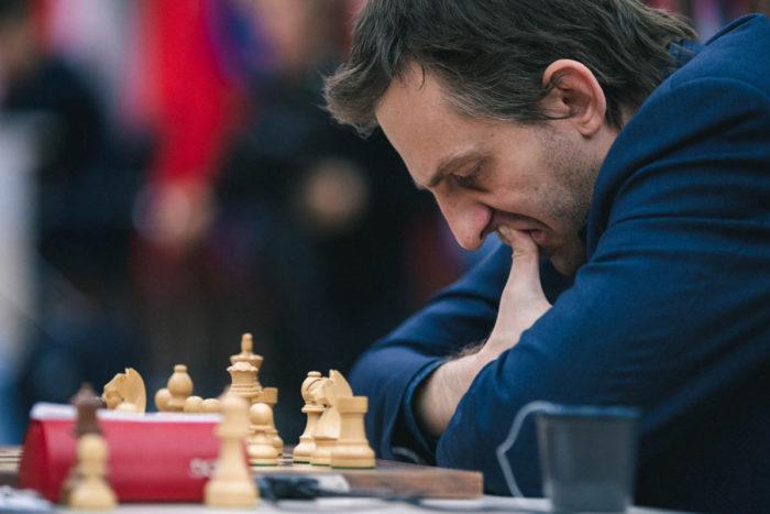 Шахматист Александр Грищук. Кубок мира 2019 (Ханты-Мансийск)