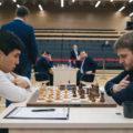 Уэсли Со (США) и Никита Витюгов (Россия). Кубок мири по шахматам 2019