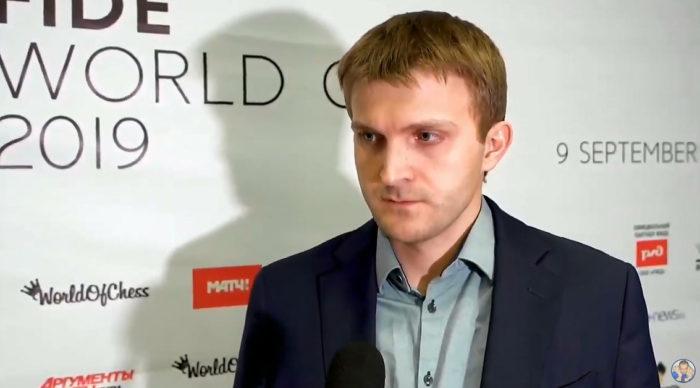 Шахматист Никита Витюгов. Шахматы Кубок Мира 2019